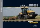 Challenger MT800B series tracked tractors brochure