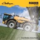 Challenger Rogator RG600B series Sprayer brochure