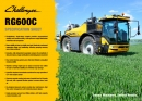 Challenger Rogator RG600C Series Sprayer Specification - Pomier